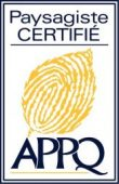 Paysagiste certifié APPQ
