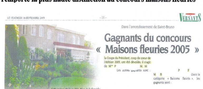 Maisons Fleuries 2005